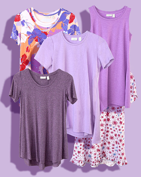 Color Crush: Parade Of Purples