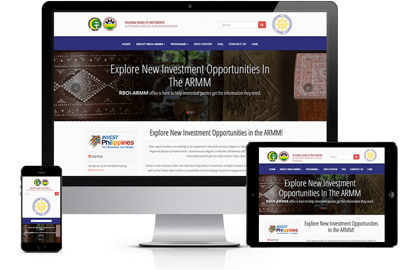 RBOI-ARMM mobile devices