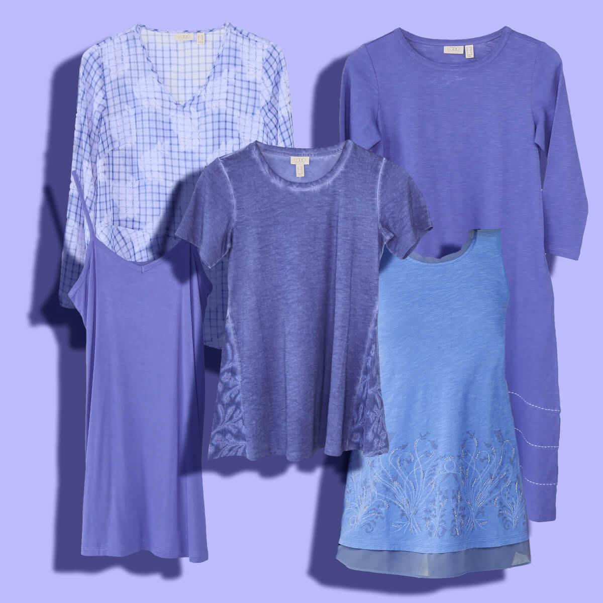 Color Crush: Blue Violets