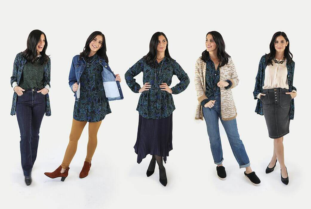 5 Ways To Wear It: Our Favorite Button-Up Blouse